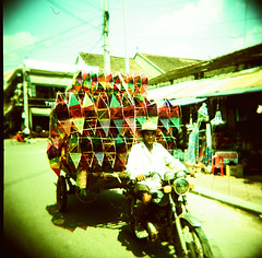 coloring the dust of day (Robin G. Ewing) Tags: holga asia cambodia fuji toycamera siemreap provia 100f top20xpro top20holga lpbag