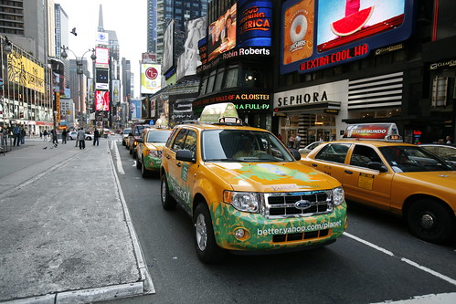 Green NYC cabs