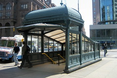 NYC - East Village: Astor Place Subway kiosk by wallyg on Flickr