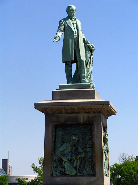 John W. Thomas statue