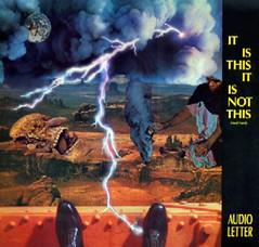 Audio Letter LP, 1987, free downloads on lastFM! - by cactusbones
