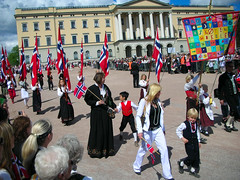 17th of May in Oslo - The Parade at the Castle #1