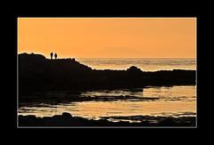 Sunset walk (fredrikholm.se) Tags: ocean sunset lighthouse reykjavik viti grtta seltjarnarnes
