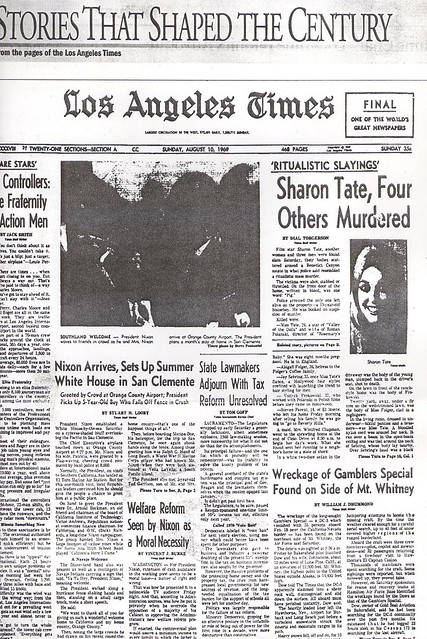00 LA Times the day the wreckage was reported