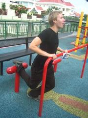 Ben Flexercising