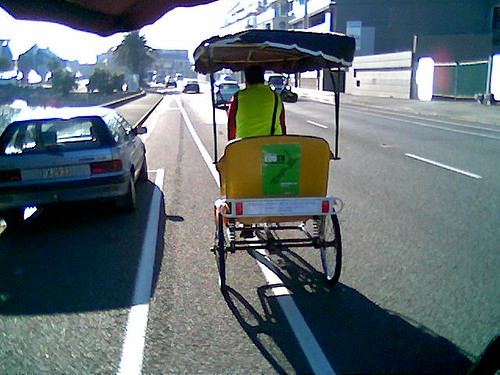 Pedicabs on Rocks Rd