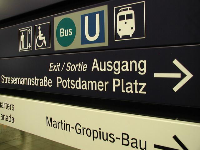 Metro Potsdamer Platz