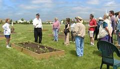 Community Garden History Talk (Mr. History) Tags: bob saline salinecommunitygarden calestaharrison salinehistory bobtalks mrhistory