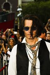 Johnny Depp (FrogMiller) Tags: celebrity film canon movie stars fun star disneyland entertainment famouspeople celebrities premiere johnnydepp depp piratesofthecaribbean redcarpet moviepremiere famousperson jacksparrow captainjack captainjacksparrow robertmiller piratespremiere atworldsend