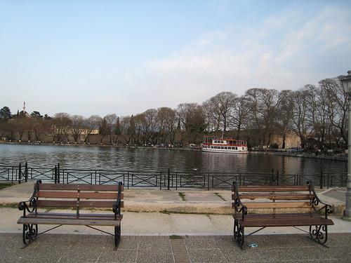Giannena lake 2007. Λίμνη Ιωαννίνων