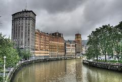 Bilbao no es slo el Guggenheim (basajauntxo) Tags: puente searchthebest bilbao euskalherria ria hdr euskadi cascoviejo zubia lamerced nervion blueribbonwinner nerbioi abigfave anawesomeshot impressedbeauty basajauntxo ysplix searchandreward