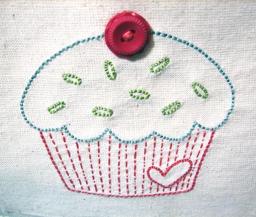 cupcake-handstitched