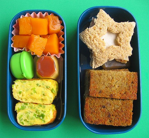Scrapple bento lunches