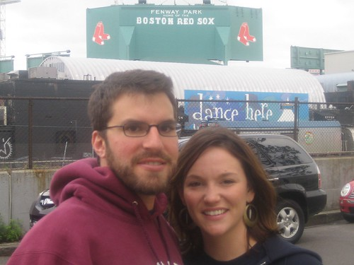 Kyle and Me at Fenway!