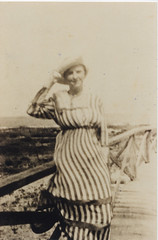 Wilhemina Rabun Vannerson beach (TranscendentalGenealogist) Tags: rabun vannerson