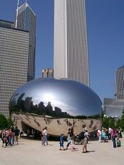 the bean at millenium park
