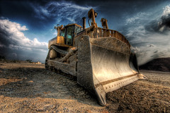 Dozer (dfworks) Tags: construction industrial machinery hdr bulldozer 3xp photomatix sigma1020 supershot impressedbeauty diamondclassphotographer superhearts overtheexcellence