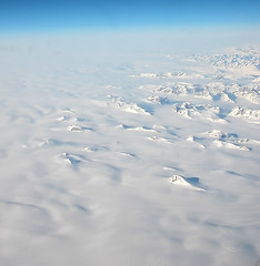 Seeing White in Greenland (FarFlungTravels) Tags: blue sky white snow mountains ice aerial greenland geography gr8photo