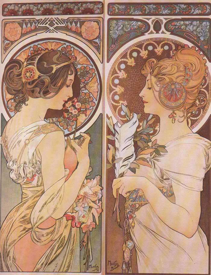 Alphonse Mucha.1860-1939. Part 2.: art_nouveau