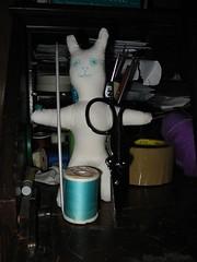 Nuigurumi Rabbit Doll (Rhelynn) Tags: rabbit bunny bunnies animal mos toy stuffed handmade softies handsewn nuigurumi