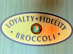 Loyalty Fidelity Broccoli digitally cross processed