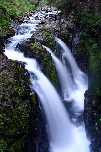 The Sol Duc Falls