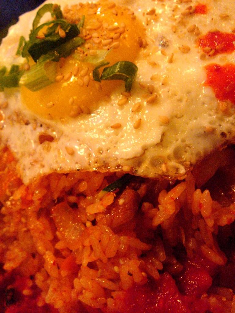 Kimchi Fried Rice @  Spice Alley
