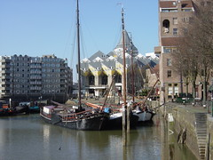 Old harbour (Oude haven) in Rotterdam