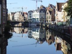 View over canal in Gent (Matthias Ripp) Tags: stadtdenkmal unescoworldheritagesite worldheritage unesco worldheritagesite culturalheritage welterbe weltkulturerbe unescowelterbe kulturerbe denkmal