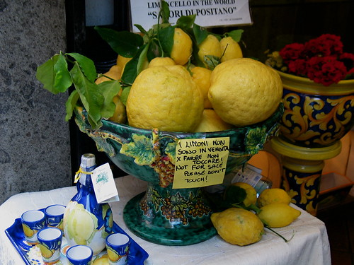 Limone and Limoncello