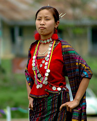 Tangsa Girl (Arif Siddiqui) Tags: people woman india girl costume asia tribal indigenous arunachal southasia arunachalpradesh northeastindia unknownfaces arunachalpradeshindia arunachali