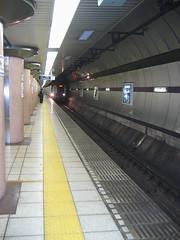 Metro (shutterBRI) Tags: 2005 travel station japan train canon subway photography tokyo photo metro powershot a80 shutterbri brianutesch photofaceoffwinner pfogold brianuteschphotography