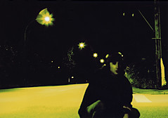 KK portrait (Kris Krug) Tags: selfportrait reflection film me self xpro crossprocessed tungsten kriskrug kk møtleykrüg
