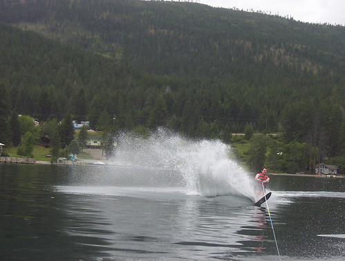 2005 bluebay flatheadlake waterskiing lance
