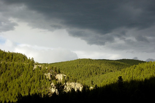 Storm rolls in by Bitterroot.