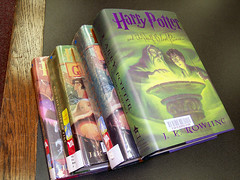 A Potter Stack (michaelkpate) Tags: harrypotter sebringlibrary