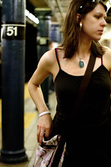 hint_thepink (puja) Tags: nyc newyorkcity blue 510fav subway 50mm lenstagged 300d yes canondigitalrebel 51 canon50f18 50mm18 dava canon50mm18 yes1 tenpositive