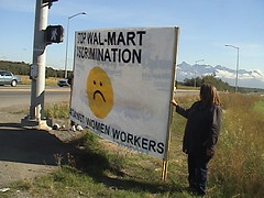 Mat-Su NOW Wal-Mart Protest