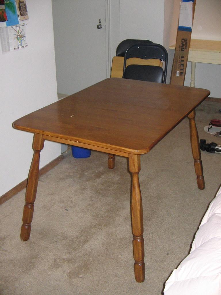 Found: Oak (?) Kitchen Table