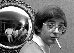 REFLECTION (davidharding) Tags: deleteme5 deleteme8 deleteme reflection deleteme2 deleteme3 deleteme4 deleteme6 deleteme7 saveme4 saveme5 saveme6 saveme saveme2 saveme3 saveme7 deleteme10 cigarette smoking nostalgia saveme8 1970s