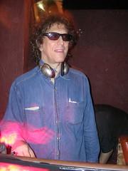 photographer Mick Rock as DJ (kittykowalski) Tags: celebrities mickrock glam photographers bowie blondie queen loureed sydbarrett