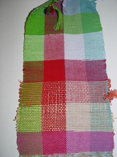 Weaving project 1- structure sampler