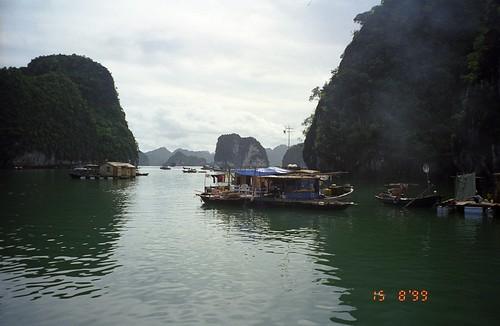 vietnam halongbay boats