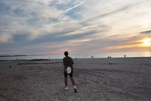 Jon on the Mattituck Beach
