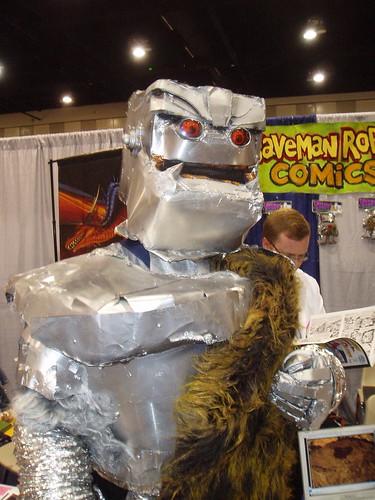 caveman robot