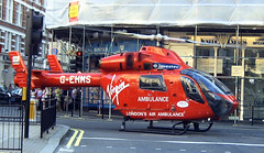 London Air Ambulance (HEMS) at Drury Lane (Steve J) Tags: london ambulance helicopter coventgarden hems londonairambulance