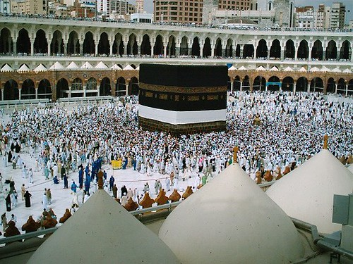 kaba in mecca