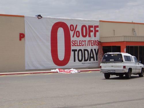 Look K-mart is having a sale!