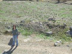 Tina among the Ruins of the Argive Heraion (ARKNTINA) Tags: archaeology ruins europe christina hellas greece pottery tina shards argive heraion mycenaen tinasolo rkfave random6 gr04