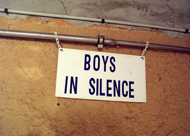 Boys in silence